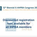 Thumbnail for Discounted registration fees at the E-AHPBA 2017 Congress in Mainz, Germany