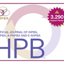 Thumbnail for HPB's Impact factor rises again - 3.290