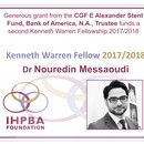 Thumbnail for CGF E Alexander Stent Fund grant to fund additional Kenneth Warren Fellowship