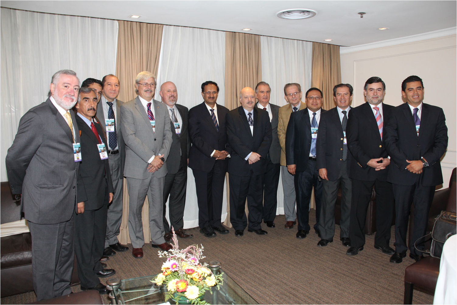 Presidents of IHPBA, AHPBA and the Latin-American HPB Chapters